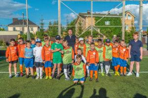 Дмитрий Аленичев с учениками академии